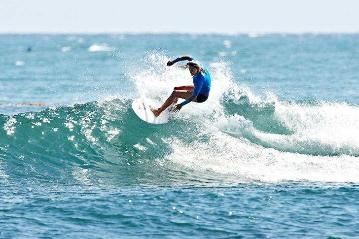 Lisa Andersen steps into the SurfAid Cup Malibu