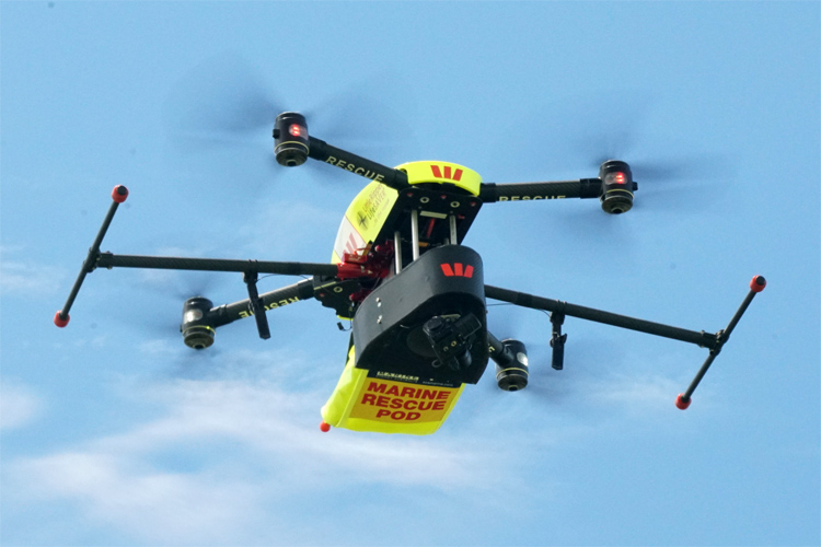 Westpac Little Ripper UAV: saving lives in Australian waters | Photo: Little Ripper