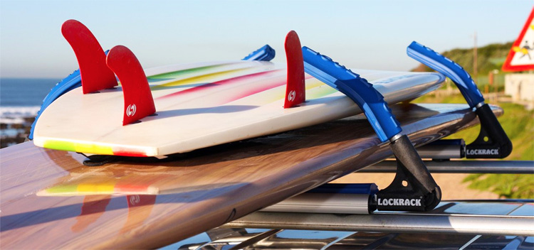 Lockrack: a simple and secure surfboard car rack