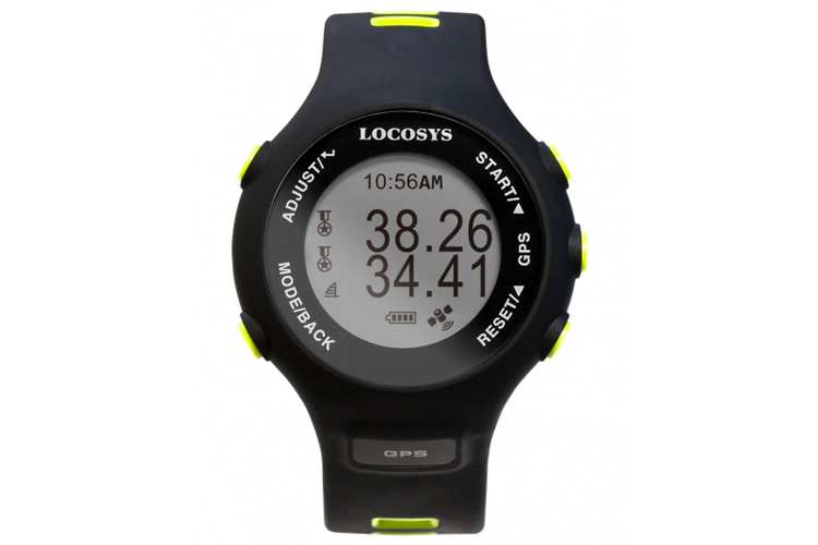 Locosys GW-60: a GPS wristwatch for speed windsurfers and kiteboarders