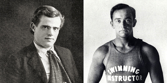 Jack London and George Freeth