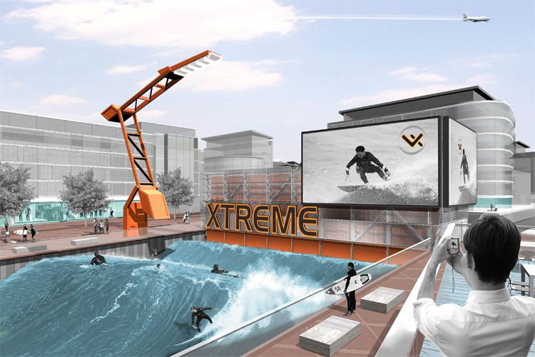 Silvertown Quays Venture Xtreme: will London have a surf park in 2011?