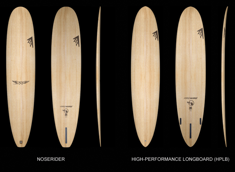 Longboards: there are two main types: noseriders and high-performance longboards