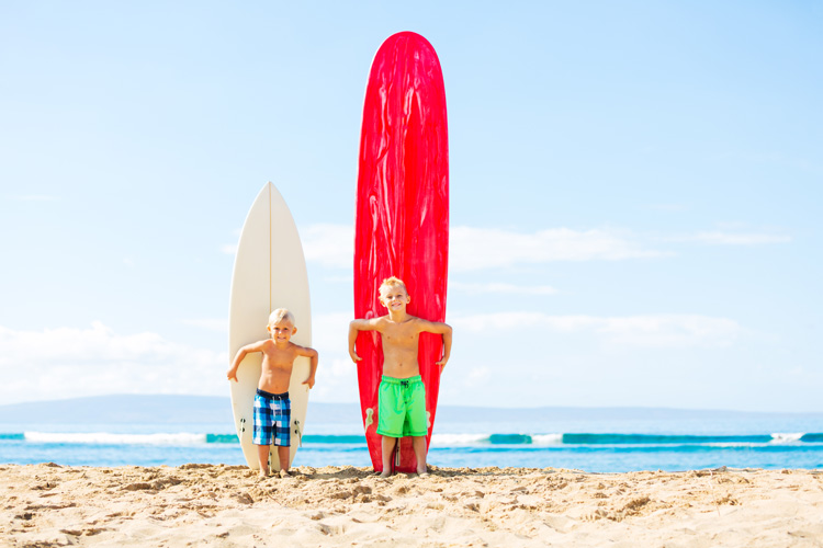 Surfing: transitioning from a longboard to a shortboard requires a lot of practice | Photo: Shutterstock