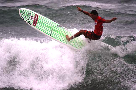 2009 World Longboard Tour is in Tahara