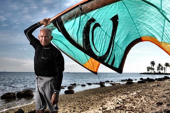 Louis Gomez: the youngest kitesurfer | Photo: Brandon Kruse/WSJ