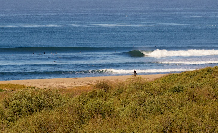 Trestles: perfect peeling waves