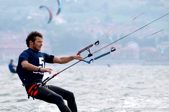 Luca Marcis: the Italian kite bullet