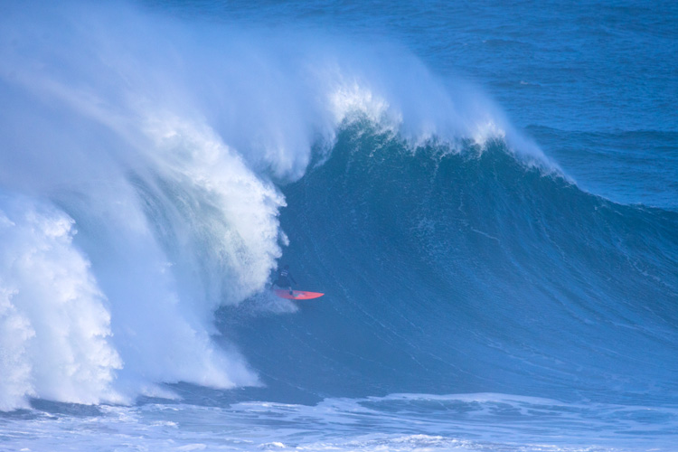 Lucas Chianca: he won the 2018 Nazaré Challenge at 22 years of age | Photo: Masurel/WSL