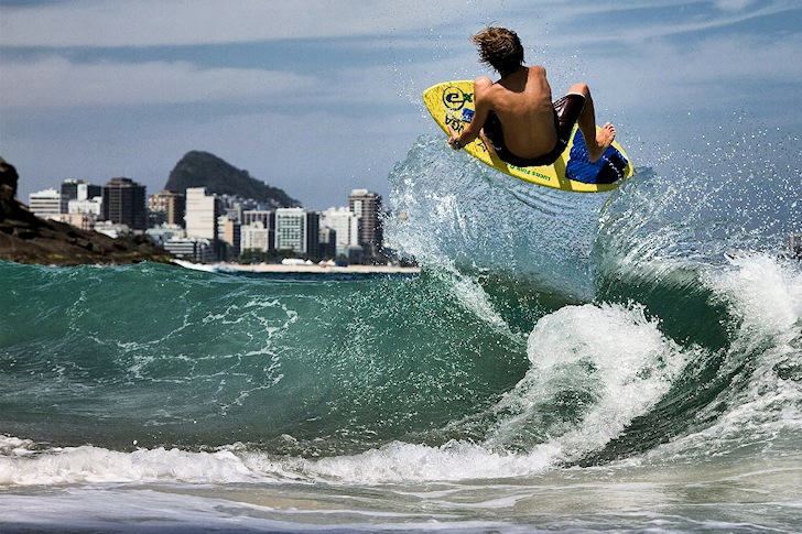 Lucas Fink: the world's next skimboarding star | Photo: Exile Skimboards