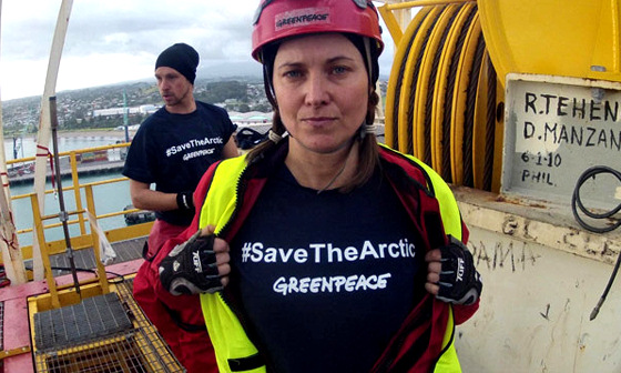 Lucy Lawless: Xena hates oil-drilling