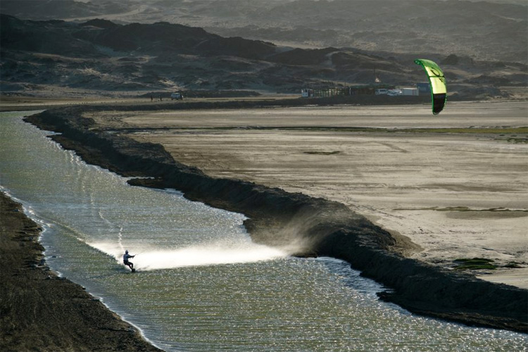 Luderitz Speed Challenge: a perfect channel for kitesurfing records | Photo: Tait/LSC