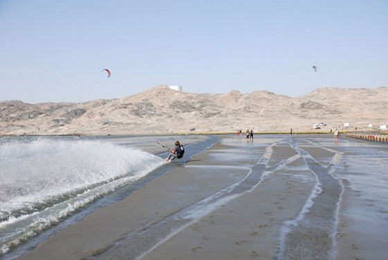 Lüderitz Speed Challenge: you do not need water to sail