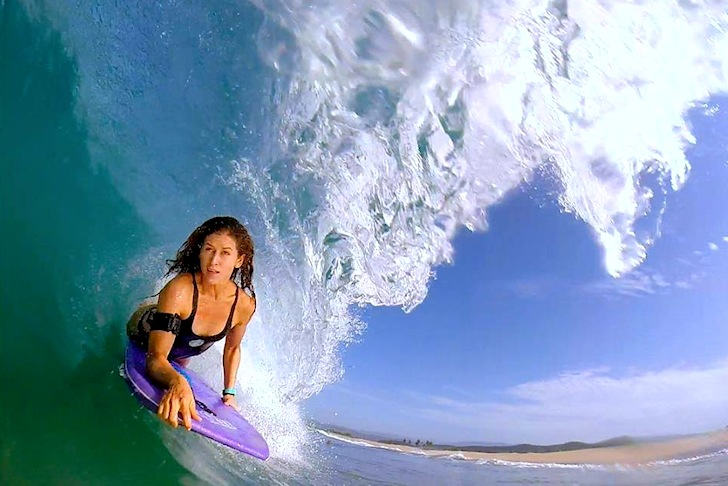 Luz Marie Grande: a bodyboarding star in Latin America | Photo: Ardiel Jimenez