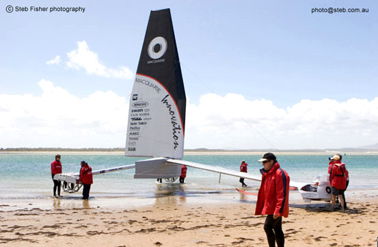 Macquarie Speed Sailing Team