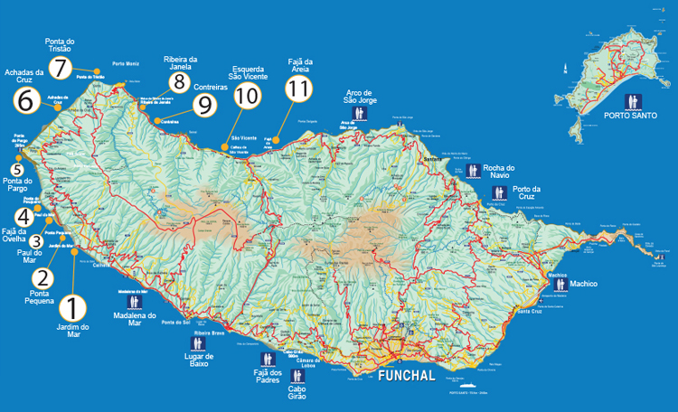 Madeira: the best surfs in the island | Illustration: ASM