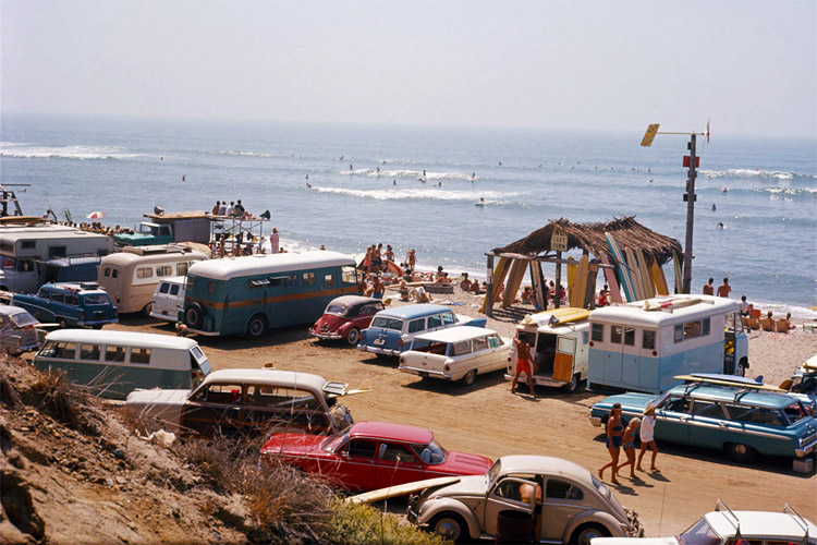 Malibu Beach: the heart of SoCal surfing