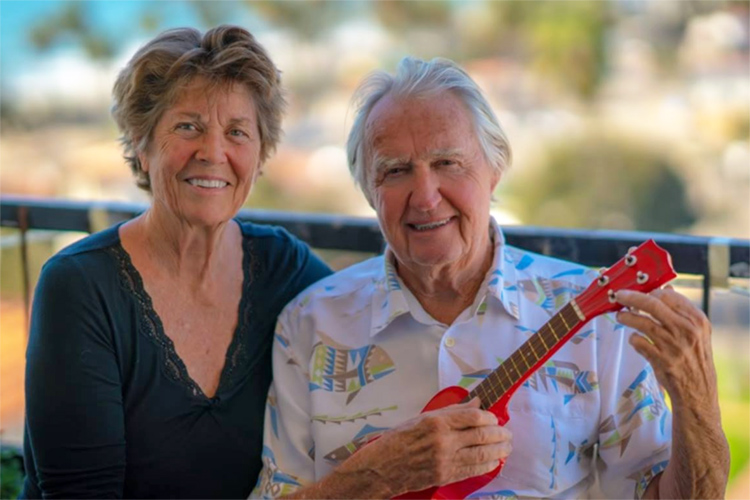 Marchia and Tom Morey: together for 47 years
