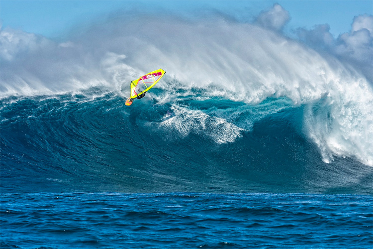 Marcilio Browne: IWT's 'Most Radical Biggest Wave of All Time' so far | Photo: Fish Bowl Diaries