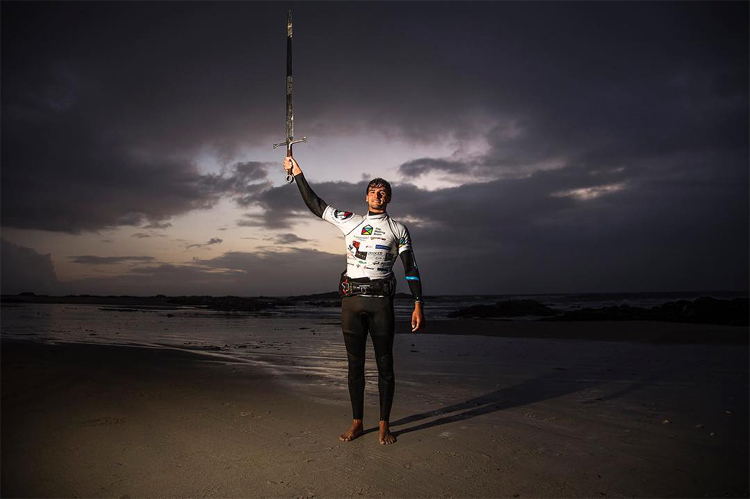 Marc Paré Rico: he added his name to the history books of the Tiree Wave Classic | Photo: Carter