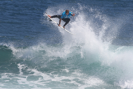 Josh Kerr: high flying winner at Margaret River
