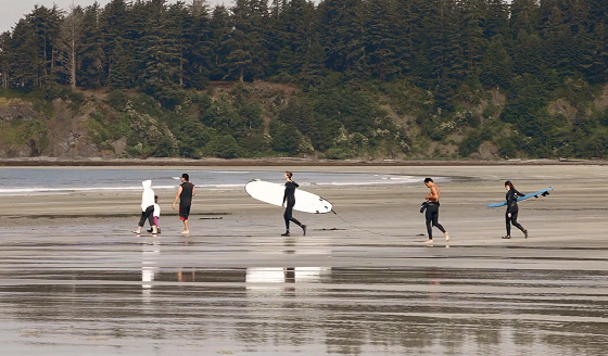 Marine Spatial Planning: it involves surfers beachgoers and other recreational users