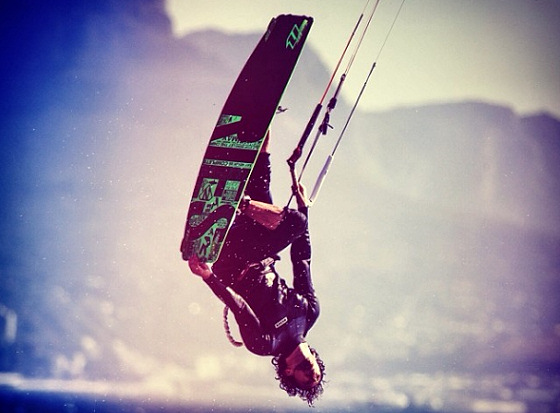 Mario Rodwald: the freestyle kiteboarding guru