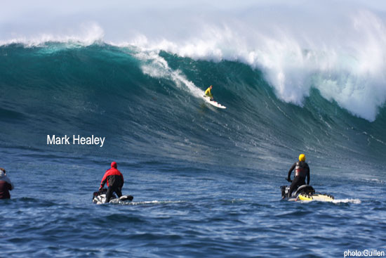 Mark Healey: top charger at Todos Santos