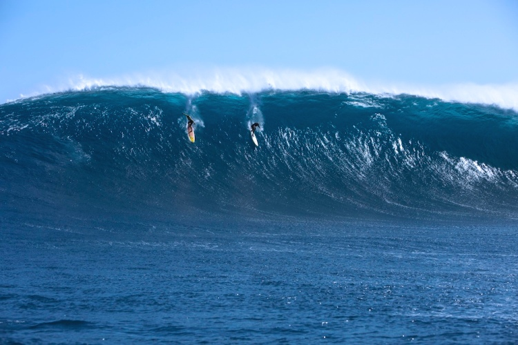 Mark Visser: Biggest Paddle-In | Photo: Jamie Scott/SLOBWA