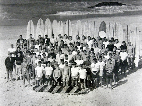 Maroubra Surfers Association: the stars of 1964