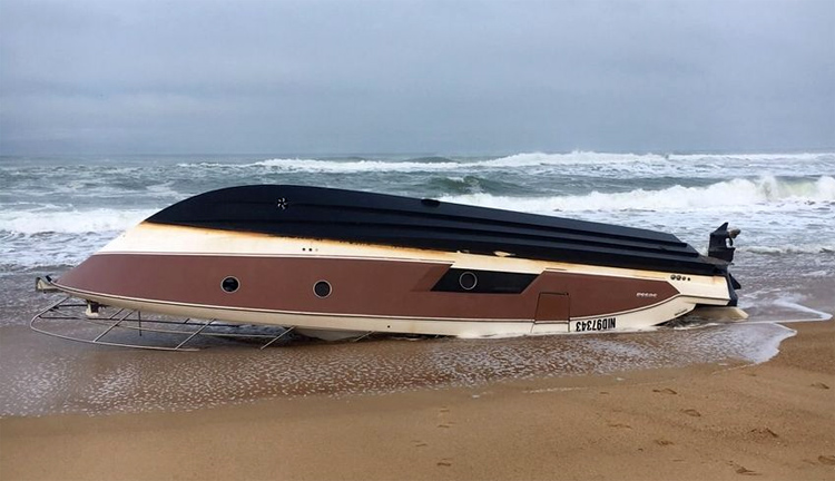 Mascaret III: the boat owned by Pierre Agnès | Photo: Mairie d'Hossegor