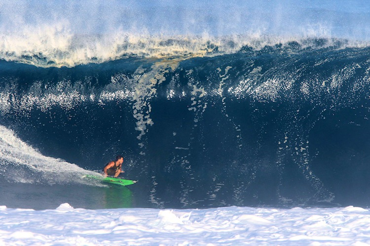 Mason Ho: rail game | Photo: Pete Hodgson/Waterman League