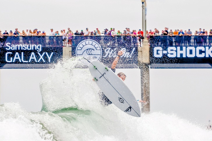Matt Banting: he clearly deserves more sponsors | Photo: Michael Lallande/US Open of Surfing