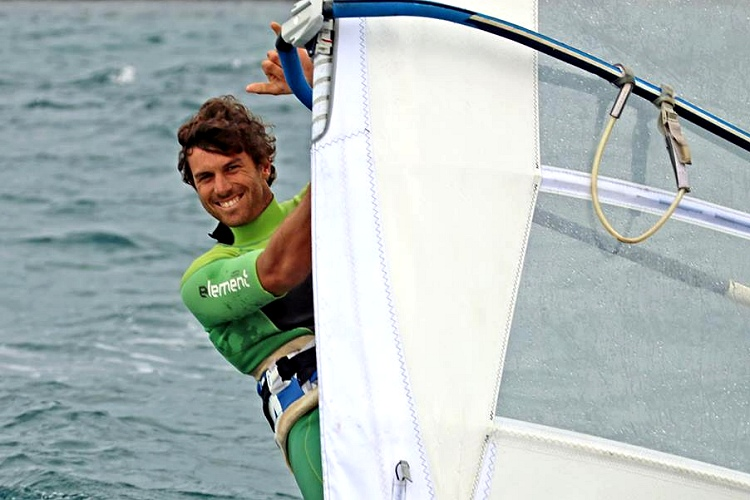Matteo Iachino: the winner's smile | Photo: TWS Windsurf