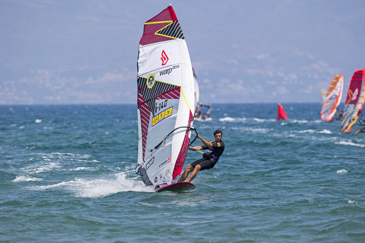 Matteo Iachino: a maiden victory inspired by Alberto Menegatti | Photo: Carter/PWA