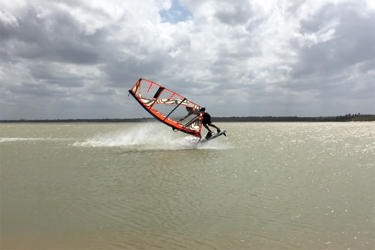 Matteo Romeo: having fun in Jericoacoara