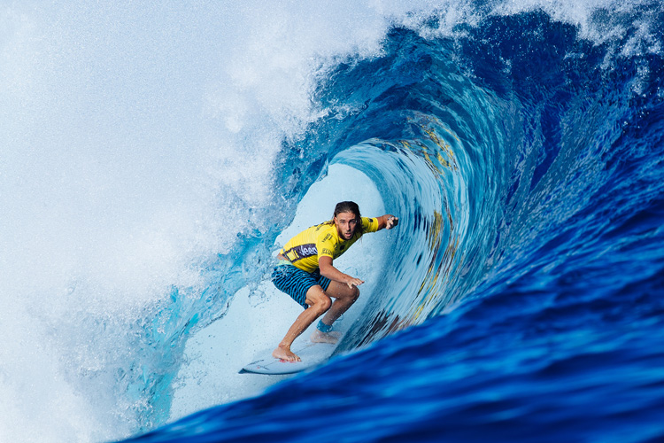 Matt Wilkinson: keeping his world title hopes alive at Cloudbreak | Photo: Sloane/WSL