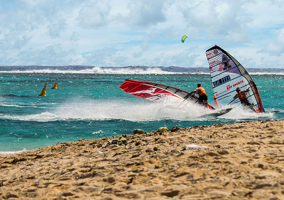 Mauritius Freeride Paradise Challenge: plenty of wind | Photo: Sean O'Brien