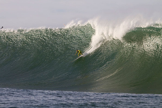 The Maverick Surf Contest is on hold