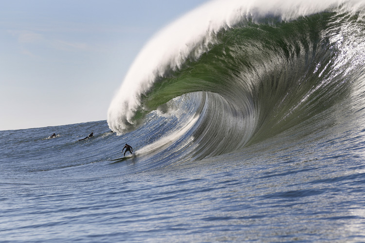 Mavericks: a unique surf break | Photo: Frank Quirarte