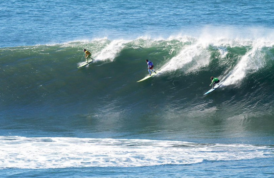 Mavericks Invitational: three in a bowl