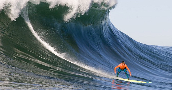 Mavericks Invitational: the beast his behind you | Photo: Tony Canadas/Mavericks Invitational