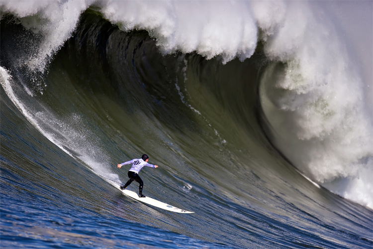 Mavericks: the iconic big wave surfing break in back in the Big Wave Tour | Photo: Jacobovs/Creative Commons