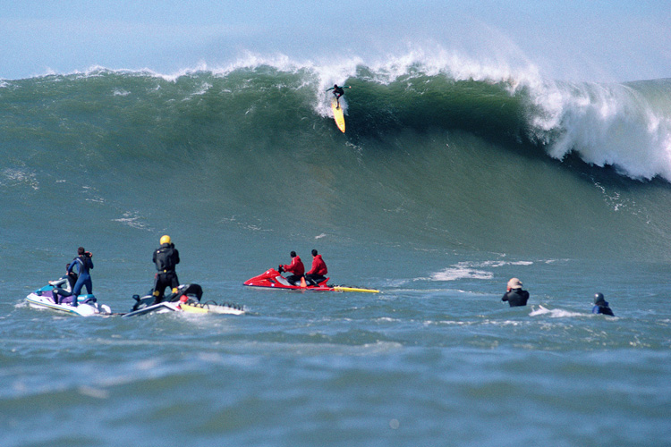 Mavericks: the Californian surf break returns to the Big Wave Tour | Photo: WSL
