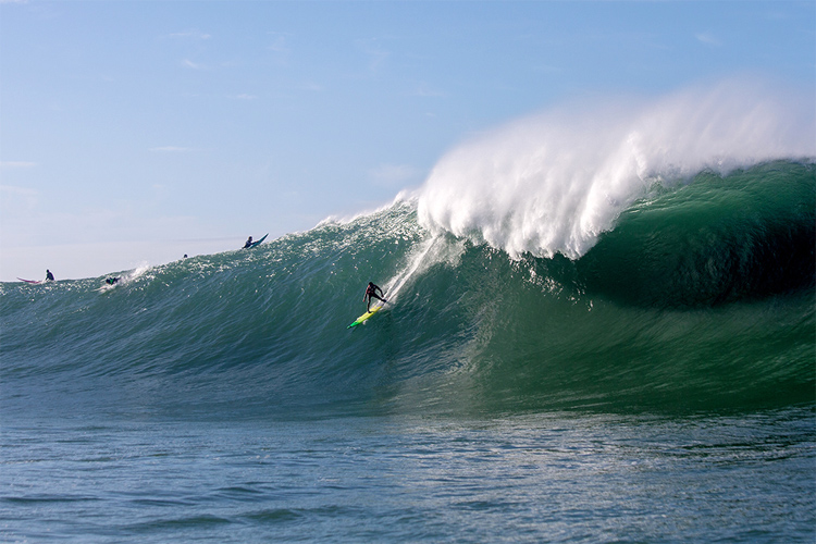 Mavericks: one of the most powerful waves on the planet | Photo: Fred Pompermayer