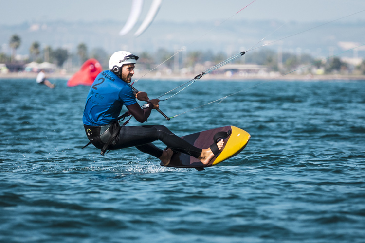 Maxime Nocher crowned 2018 KiteFoil Gold Cup champion