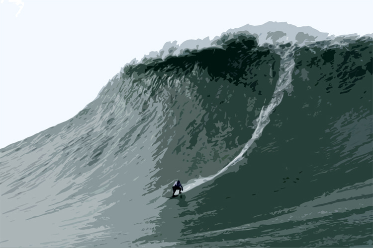 Maya Gabeira: according to WSL, this is a 73.5-foot wave