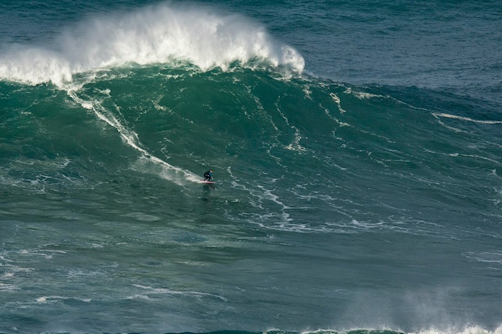 Maya Gabeira: she will return to Nazaré