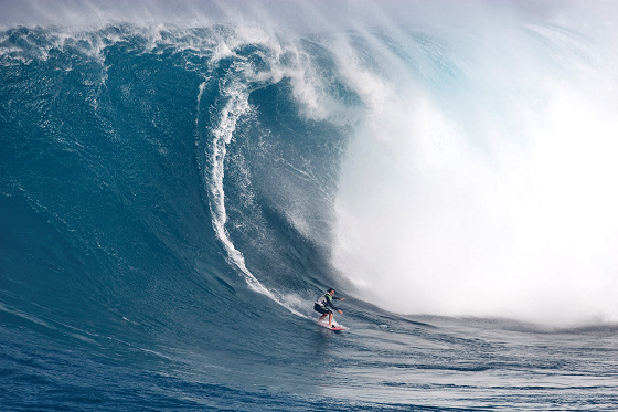 Maya Gabeira: big waves are her daily menu
