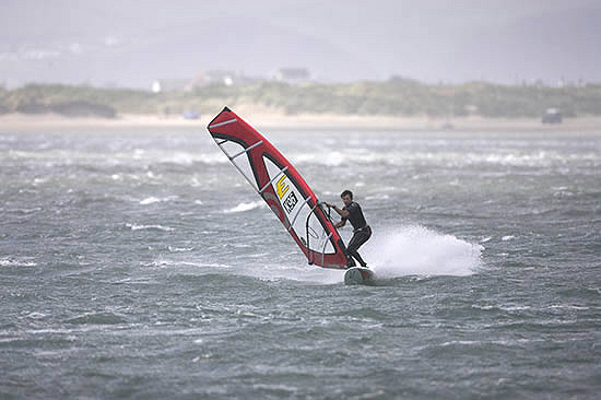 UK windsurfers: always helping marine conservation | Photo: UKWA